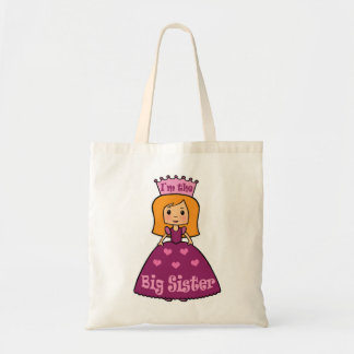 Princess Big Sister Budget Tote Bag