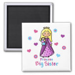 Princess Big Sister Fridge Magnet