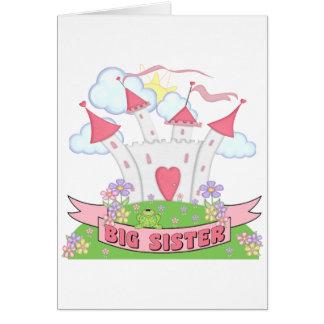 PRINCESS BIG SISTER GREETING CARD