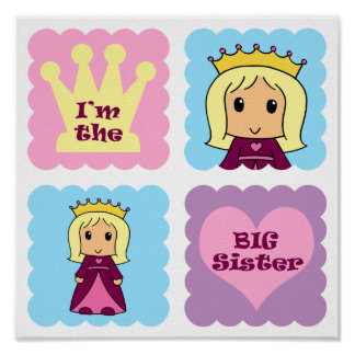 Princess Big Sister Print