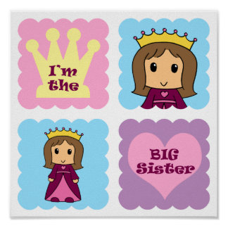Princess Big Sister Posters