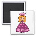 Princess Big Sister Refrigerator Magnet