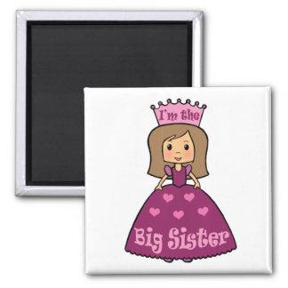 Princess Big Sister Refrigerator Magnets
