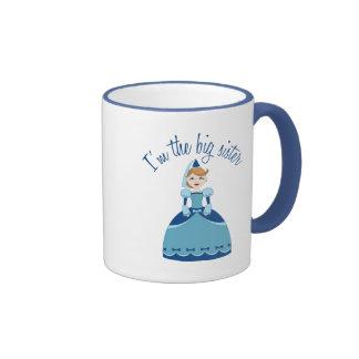 Princess Big Sister Ringer Mug