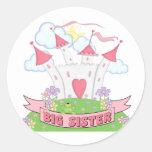 PRINCESS BIG SISTER STICKERS