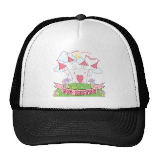 PRINCESS BIG SISTER TRUCKER HATS