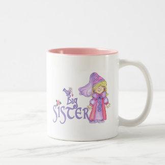 Princess Big Sister Two-Tone Coffee Mug