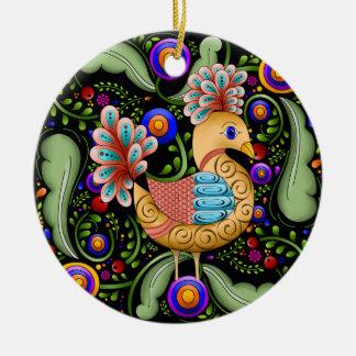Princess Birdie w/Background Ornament