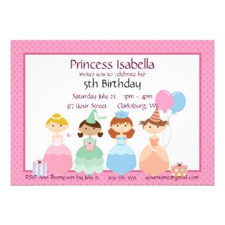 Princess Birthday Invites