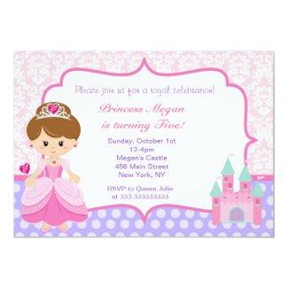 Princess Birthday Party Invitations