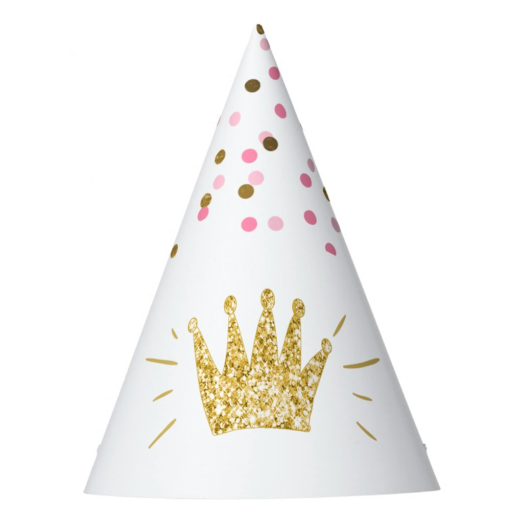 Princess Birthday Party Paper Hat