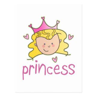 Princess Blonde Post Cards