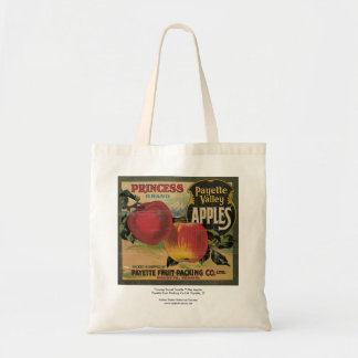 Princess Brand Payette Valley Apples Tote Bag