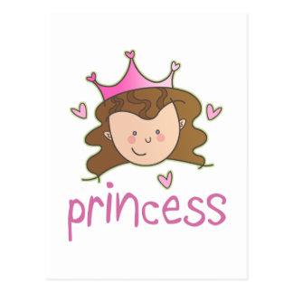 Princess Brunette Post Cards