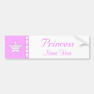 Princess Bumper sticker
