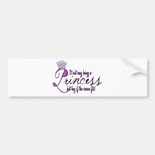 Princess Bumper Stickers