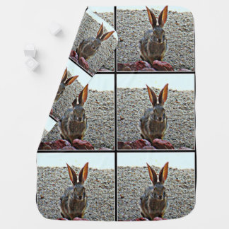 Princess Bunny Custom Baby Blanket