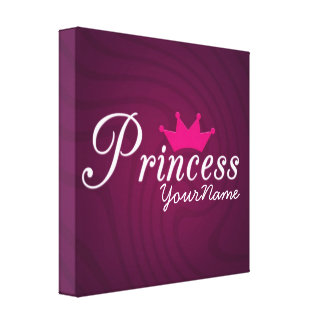 Princess Canvas Stretched Canvas Print