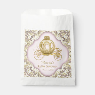 Princess Carriage Baby Shower Favour Bags