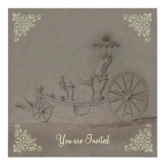 Princess Carriage ~  Invitations