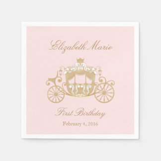 Princess Carriage Napkins Paper Napkin