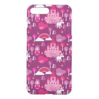 princess castle and unicorn rainbow iPhone 8 plus/7 plus case