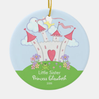 Princess Castle Little Sister Christmas Ornament