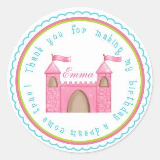 Princess Castle Stickers