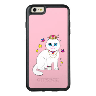 Princess Cat with Stars and Tiara OtterBox iPhone 6/6s Plus Case