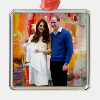 Princess Charlotte Elizabeth Diana Christmas Ornament