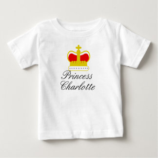 Princess Charlotte infant tee shirt