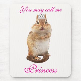 Princess Chipmunk Mouse Pad