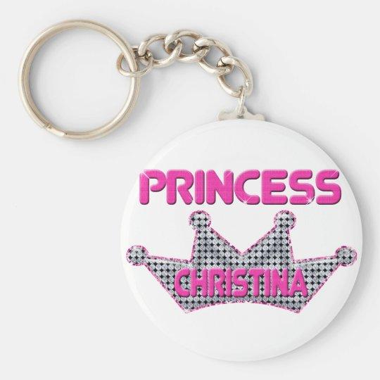 Princess Christina Key Ring