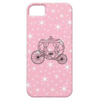 Princess Coach Design in Black and Pink. iPhone 5 Cases