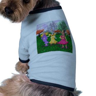 Princess Cows Ringer Dog Shirt