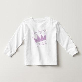 Princess Crown 3rd Birthday Tshirts and Gifts