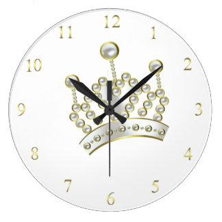 Princess Crown Clock