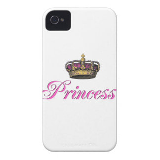 Princess crown in hot pink blackberry bold cases