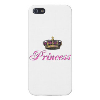 Princess crown in hot pink covers for iPhone 5