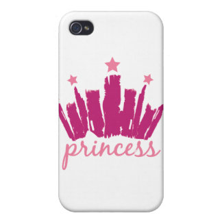 Princess Crown iPhone 4 Cases