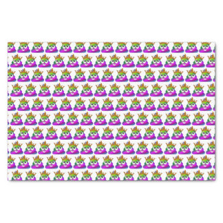 Princess Crown Rainbow Emoji Poop Tissue Paper