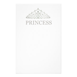 Princess Crown Stationery