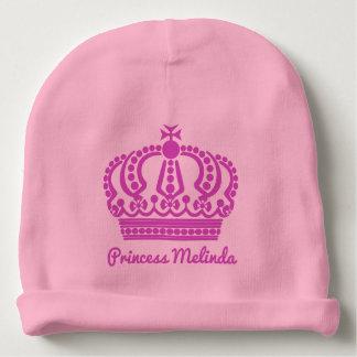 Princess custom name infant hat baby beanie