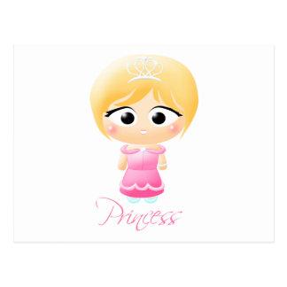 Princess Cutie Patootie Postcard