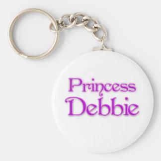 Princess Debbie Key Chain