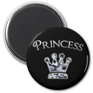 Princess Diamond Crown Magnet