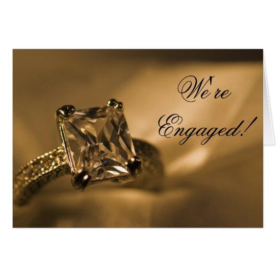 Princess Diamond Engagement Announcement