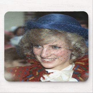 Princess Diana Bishopton 1983 Mousepad