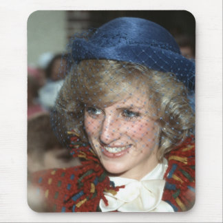 Princess Diana Bishopton 1983 Mouse Pad