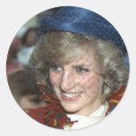 Princess Diana Bishopton 1983 Stickers